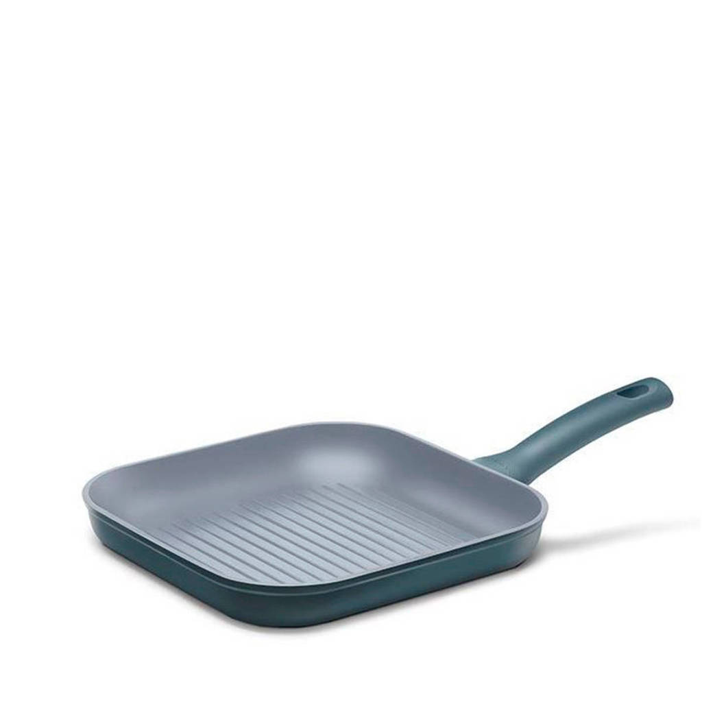 Cuisinox grillpan,  26x26 cm, Blauw