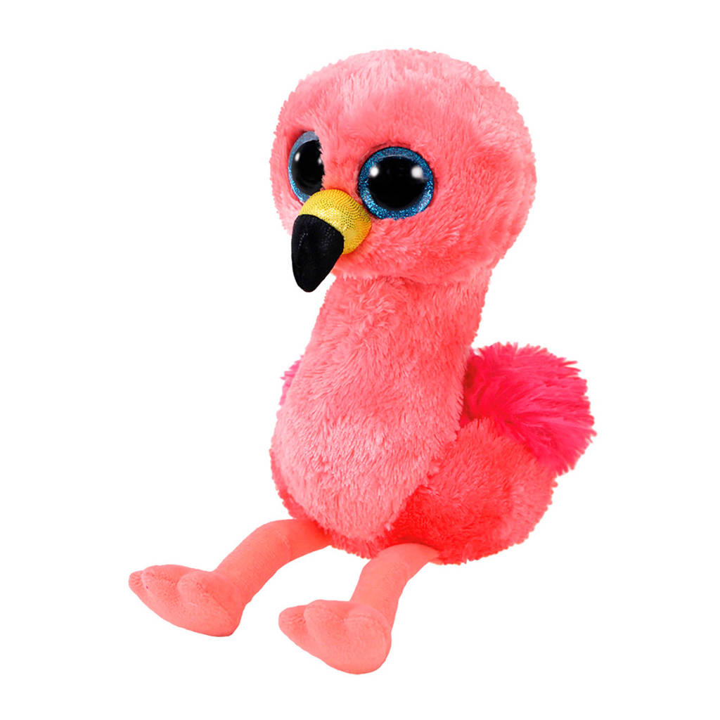 Ty Beanie Boo's Gilda flamingo knuffel 15 cm