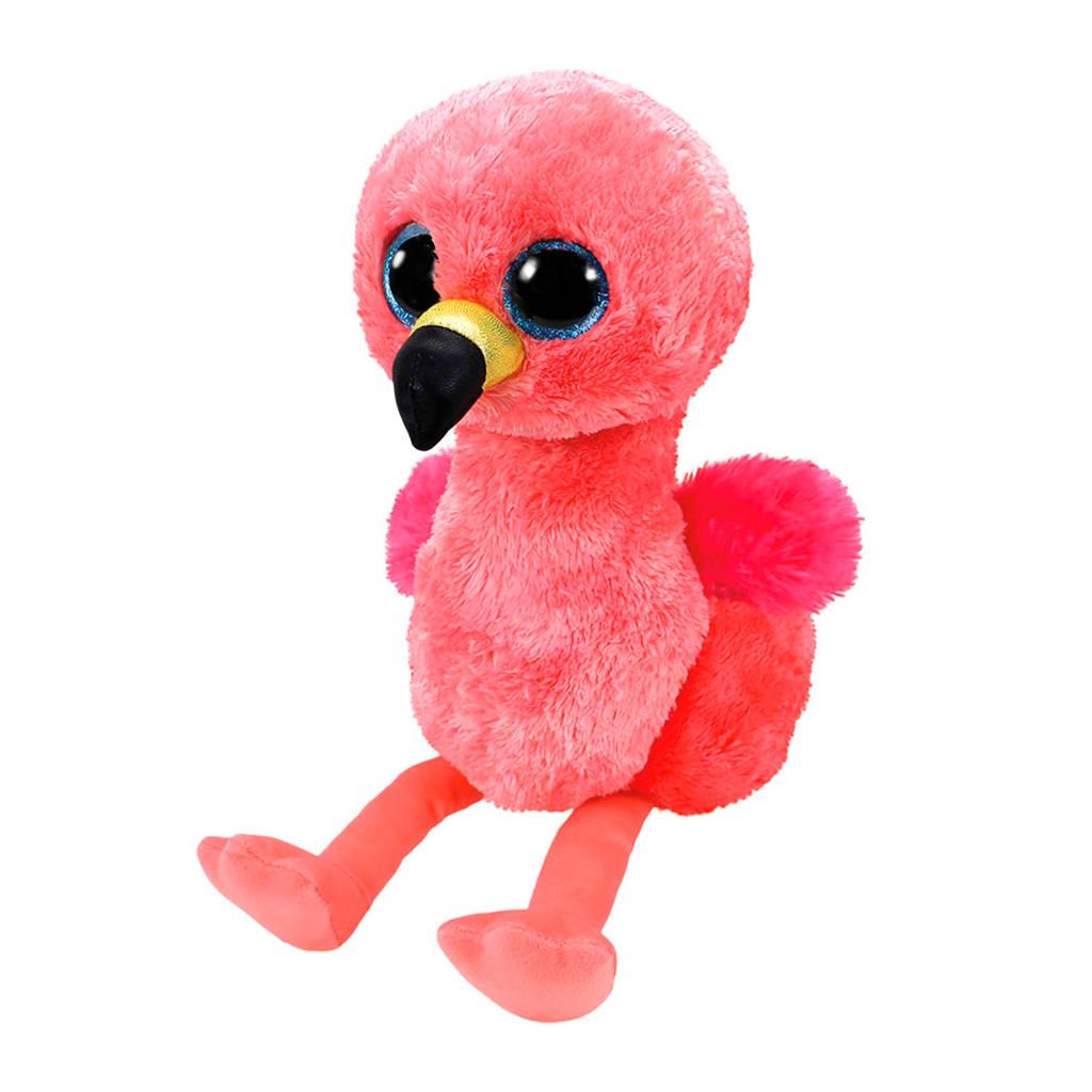 Ty Beanie Buddy Gilda flamingo knuffel 24 cm