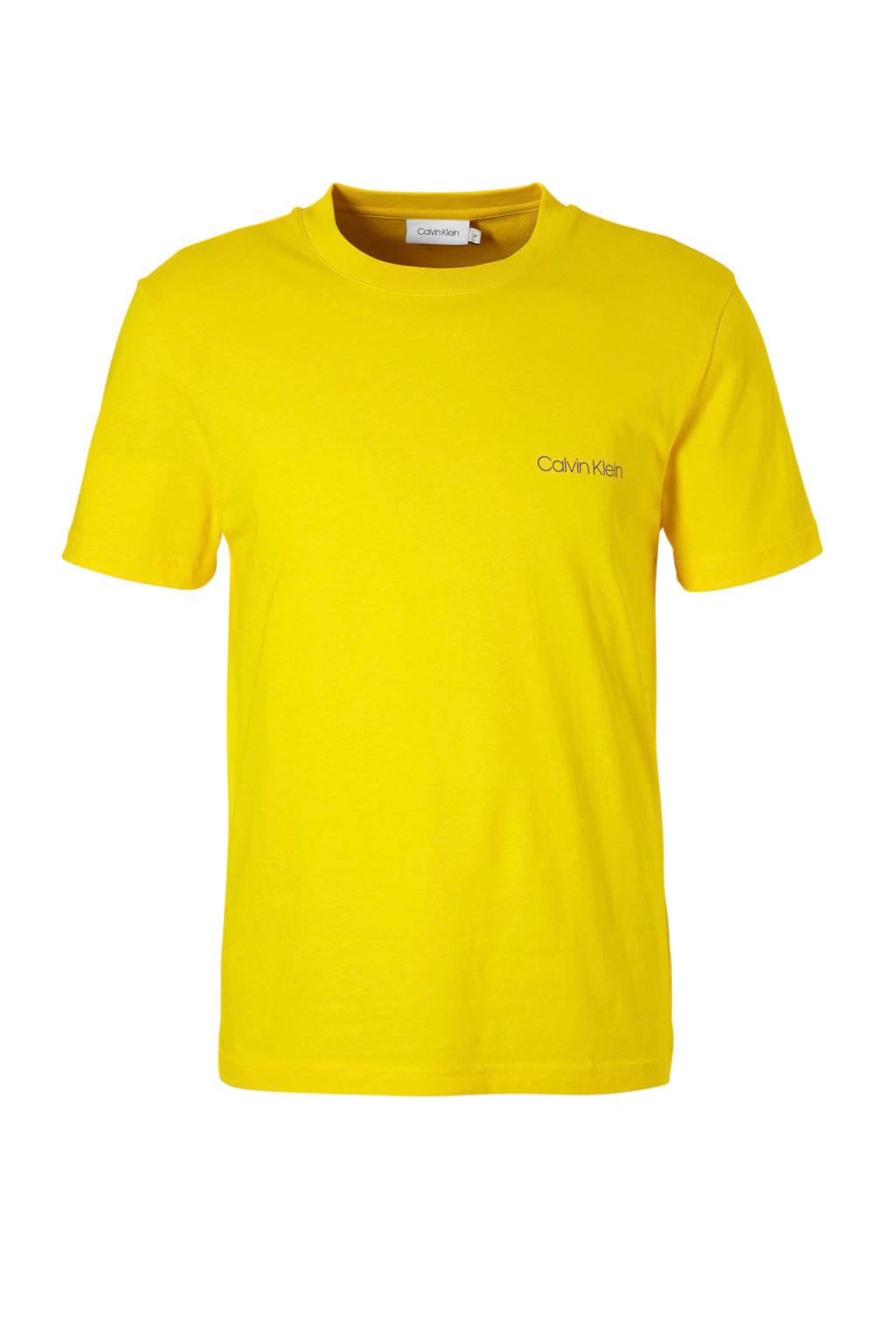 Calvin Klein T-shirt, Geel