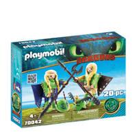 Playmobil Dragons Schorrie en Morrie in vliegpak 70042