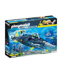 Playmobil Top Agents Team Shark Drilonderzeeër 70005