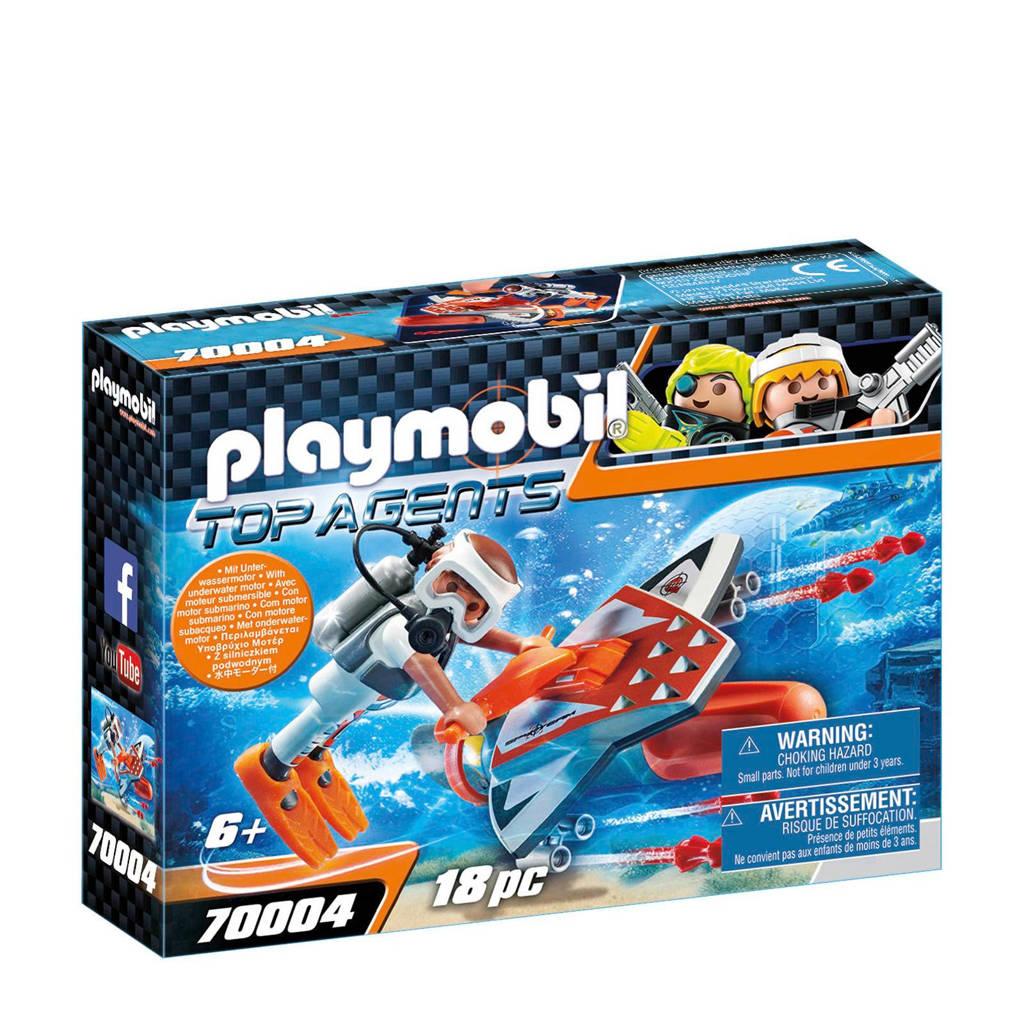 Playmobil Spy Team Onderwaterjet 70004
