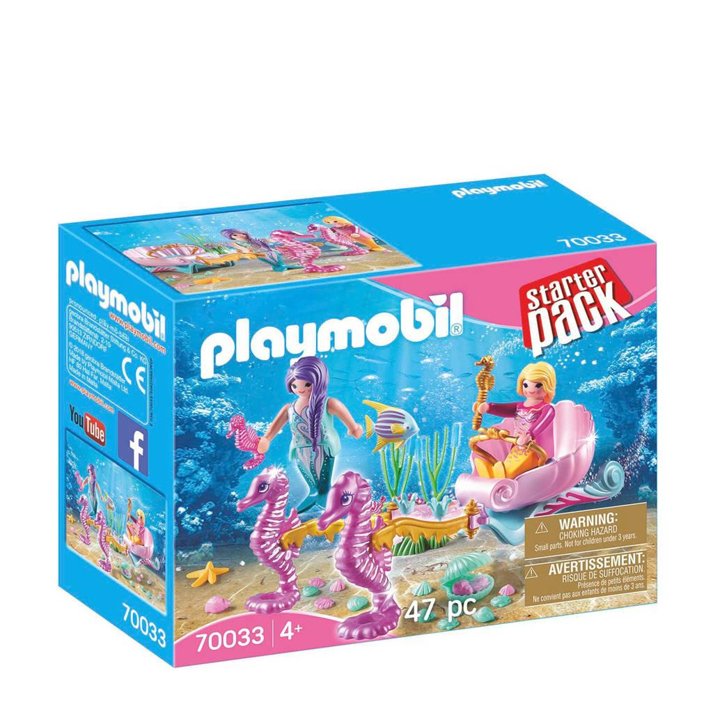 Playmobil Starter Pack StarterPack koets met zeepaardjes 70033