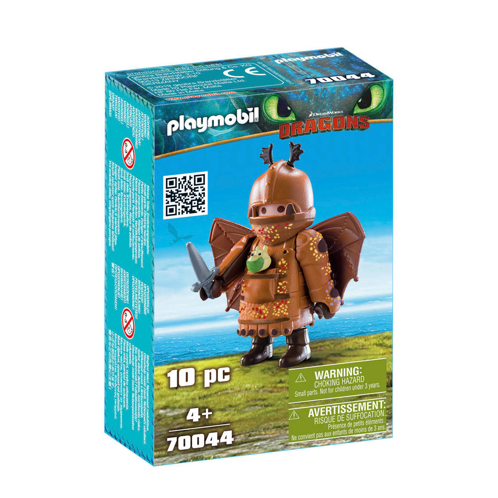 Playmobil Dragons Vissenpoot in vliegpak 70044