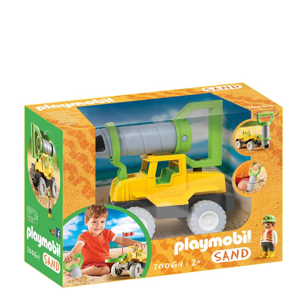 Playmobil Sand vrachtwagen met zandboor 70064