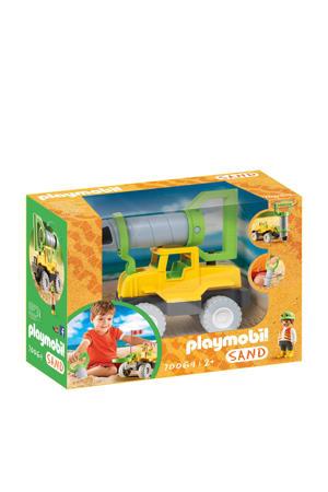 vrachtwagen met zandboor 70064