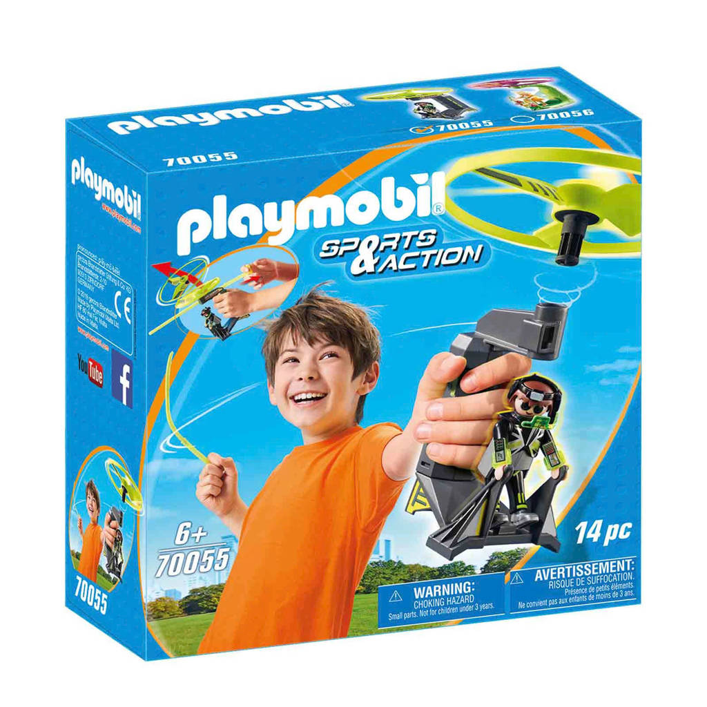 Playmobil Outdoor Action propeller 70055