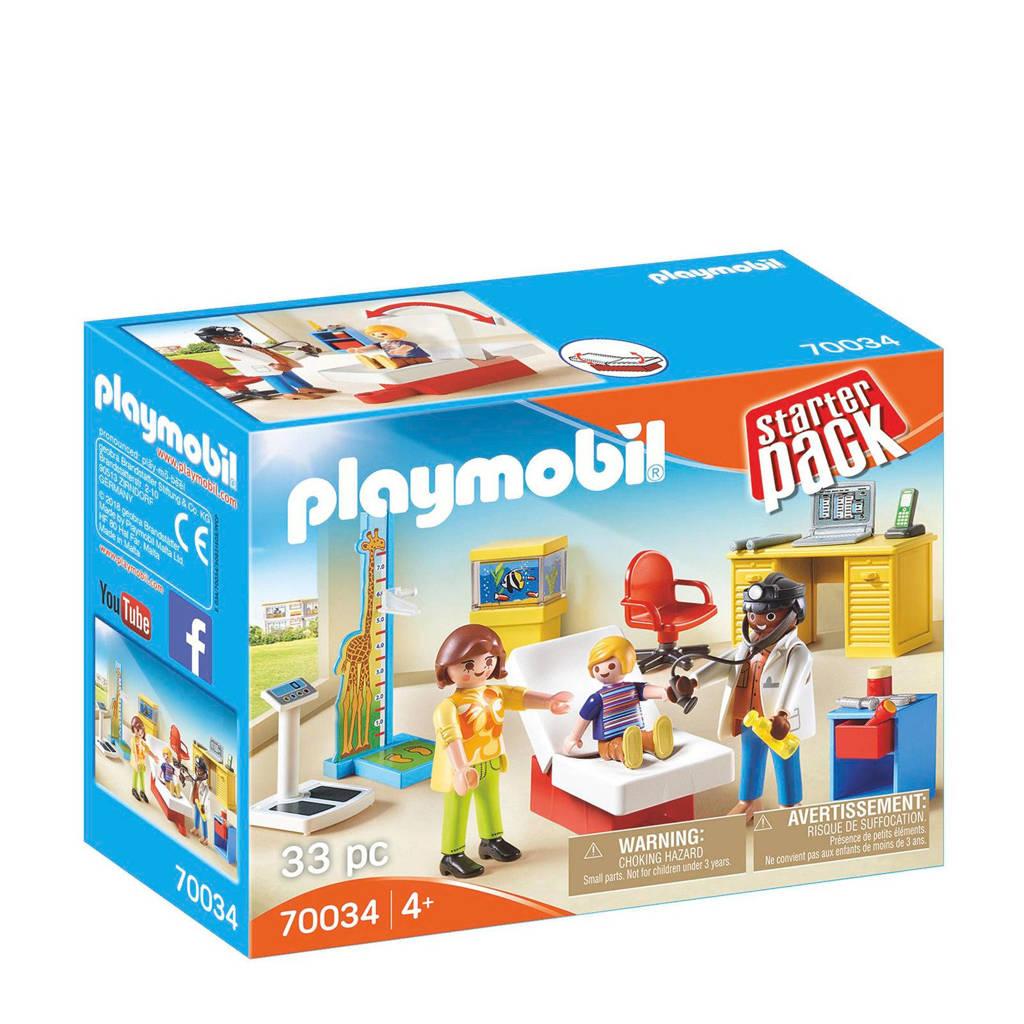 Playmobil Starter Pack StarterPack Bij de kinderarts 70034