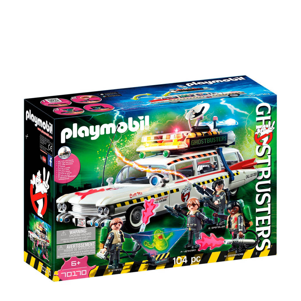 Playmobil Ghostbusters Ghostbusters Ecto-1A 70170