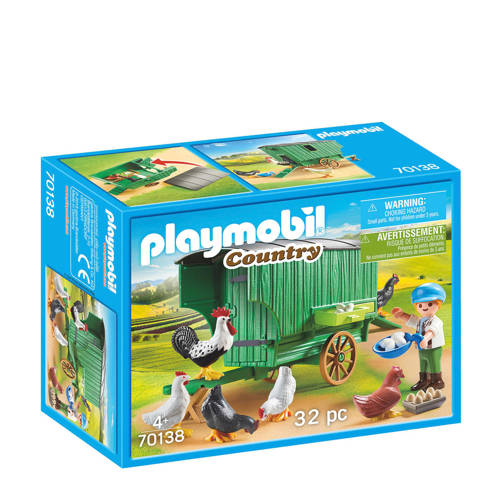 Playmobil Country kind met kippenhok 70138