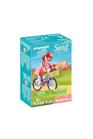Maricela met fiets 70124
