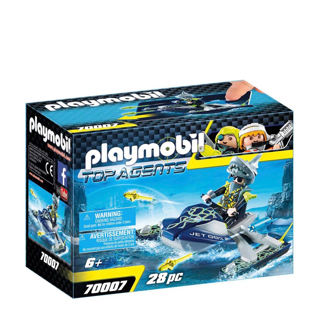 Playmobil Team Shark Raketscooter 70007