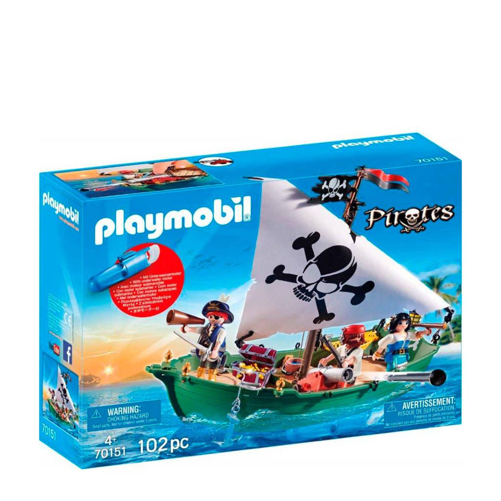 Playmobil Pirates  Piratenschuit met onderwatermotor