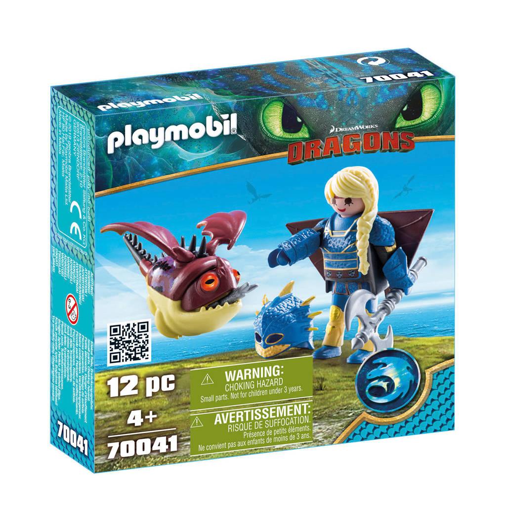 Playmobil Astrid en Schrokop 70041