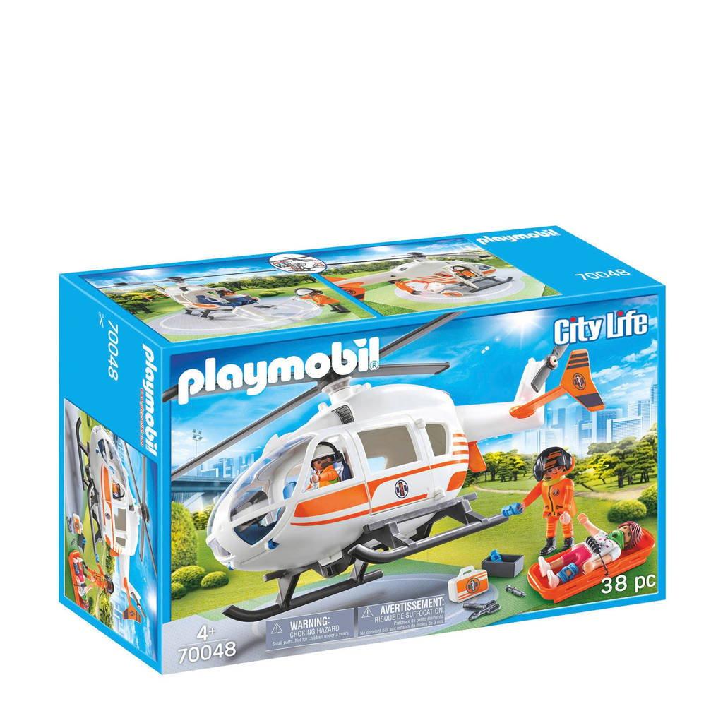 Playmobil eerste hulp helikopter 70048