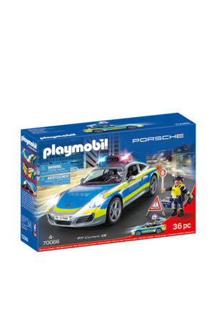 Porsche 911 Carrera 4S Politie - wit 70066