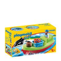 Playmobil 1-2-3 vissersboot 70183
