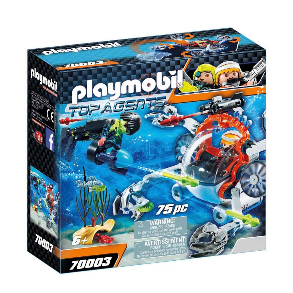 Playmobil Spy Team Bemande onderwaterrobot 70003