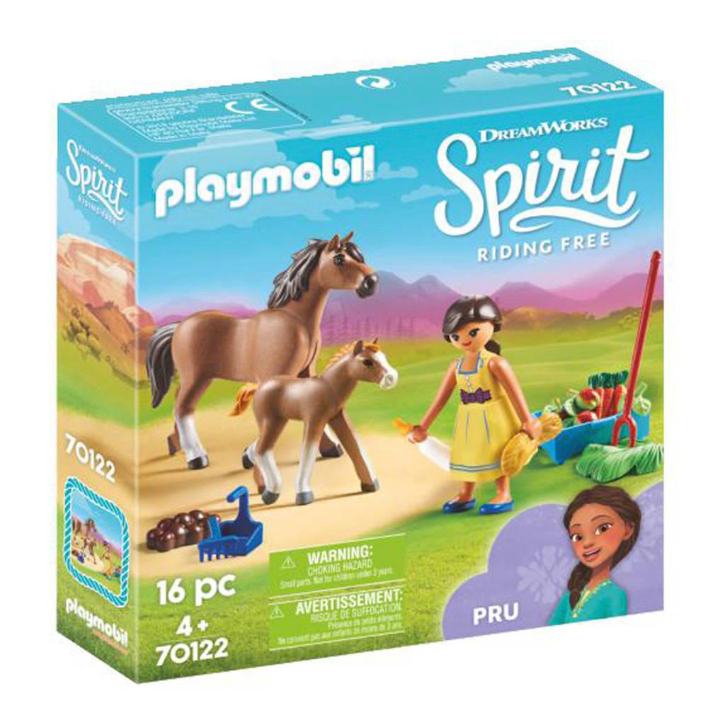 Playmobil Spirit Pru met paard en veulen 70122