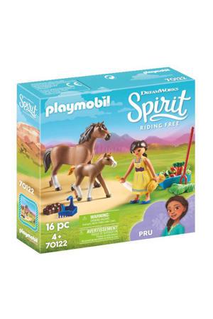 Pru met paard en veulen 70122