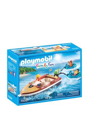 Family Fun motorboot met funtubes 70091