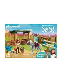 Playmobil Spirit arena met Lucky en Javier 70119