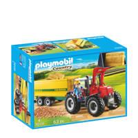 Playmobil Country grote tractor met aanhangwagen 70131