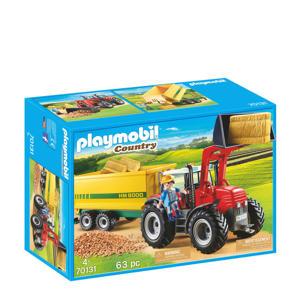 grote tractor met aanhangwagen 70131