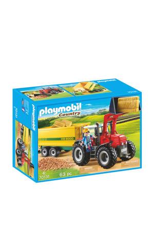 Country grote tractor met aanhangwagen 70131
