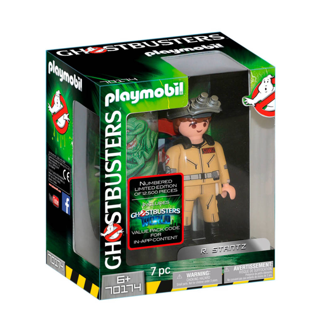 Playmobil Ghostbusters Ghostbusters Collector's edition R. Stantz 70174