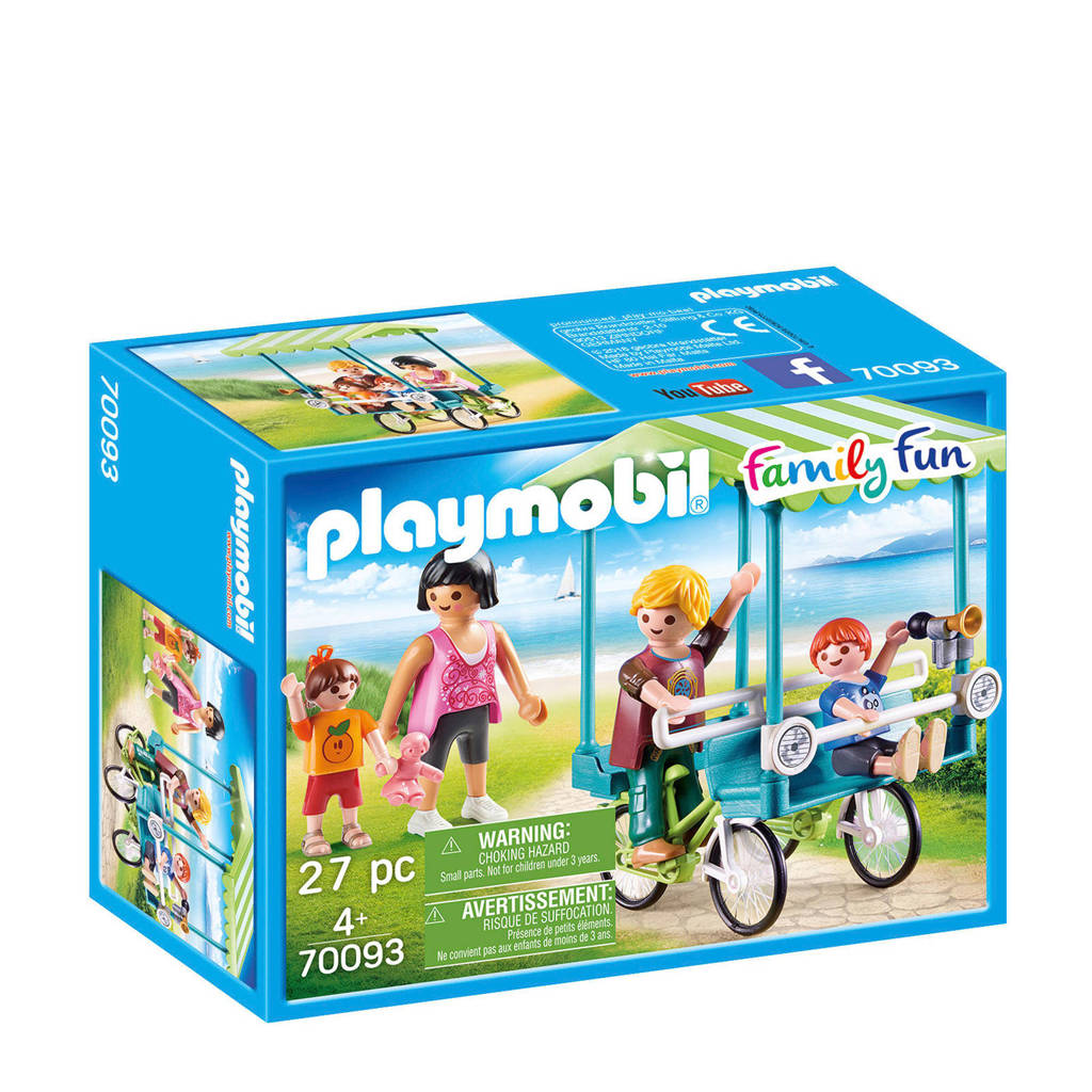 Playmobil Family Fun familiefiets 70093