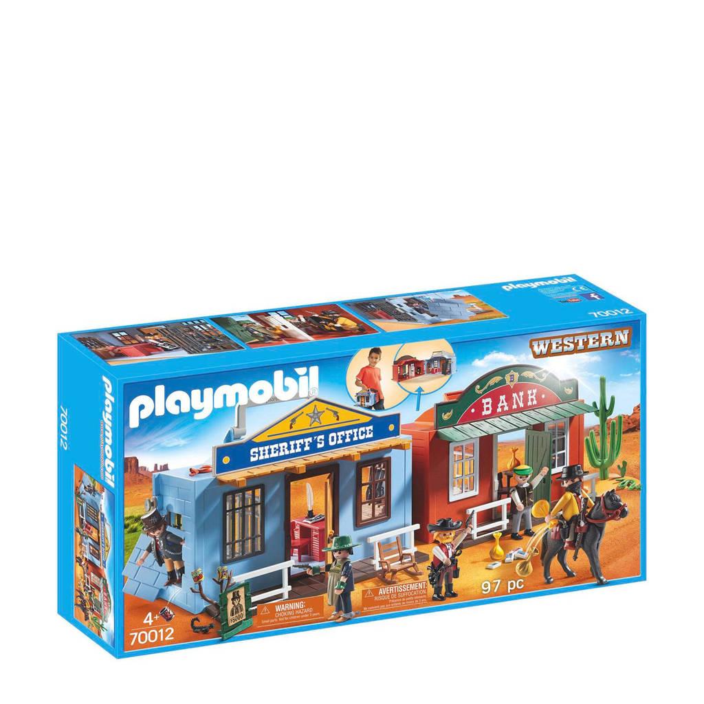 Playmobil meeneem Western stad 70012