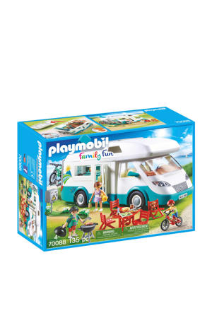 mobilhome met familie 70088