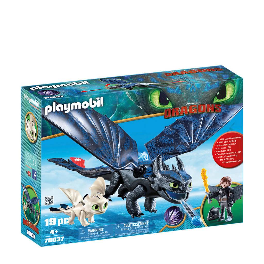 Playmobil Tandloos en Hikkie met babydraak 70037
