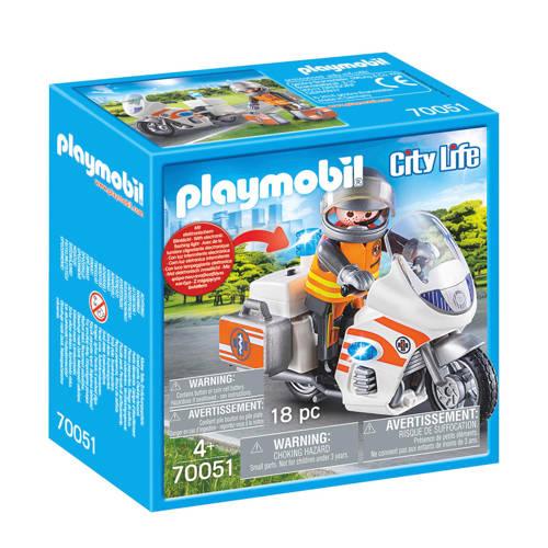 Playmobil City Life spoedarts op moto 70051 kopen