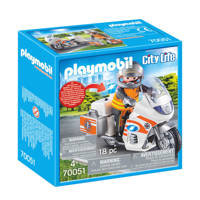 Playmobil City Life spoedarts op moto 70051