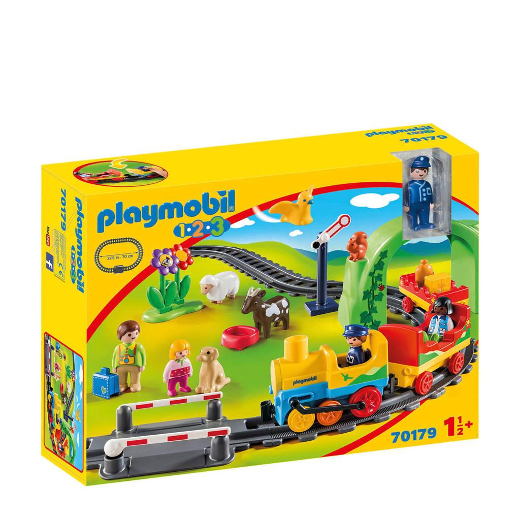 Playmobil 1-2-3 mijn eerste trein 70179