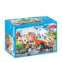 Playmobil City Life  ambulance en ambulanciers