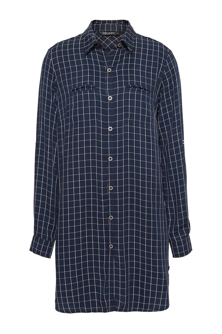 geruite geruite blouse blauw Didi Didi blouse 7CqCwB0tx
