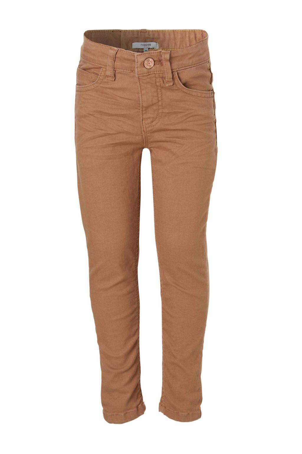 Noppies slim fit jeans Paragould, Lichtbruin