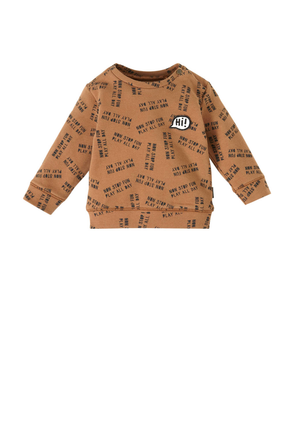 Noppies baby sweater Pascoe, Bruin
