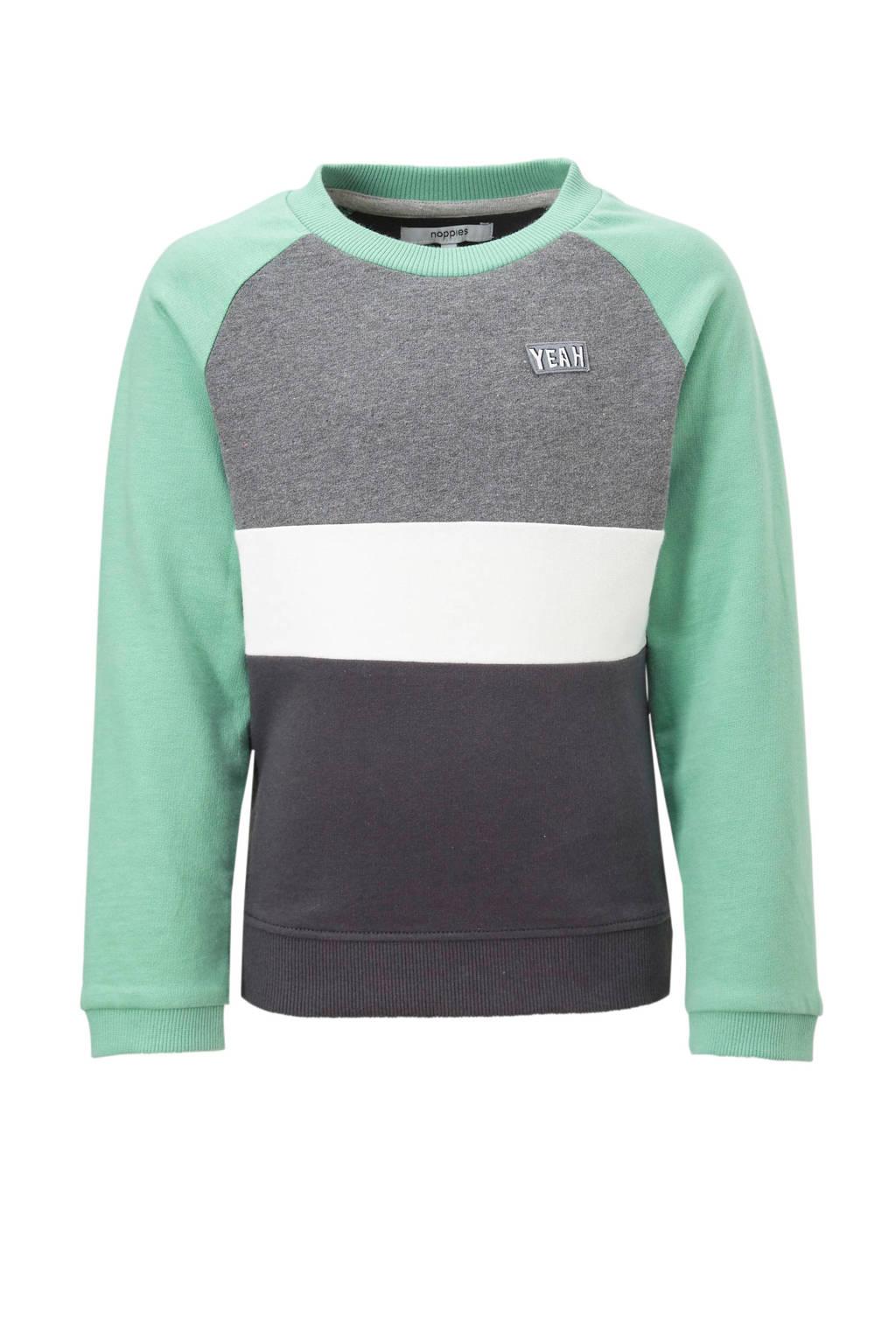 Noppies sweater Perinton, Pastelgroen
