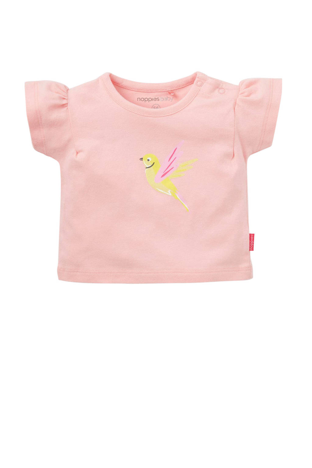 Noppies baby T-shirt Silvis lichtroze, Lichtroze