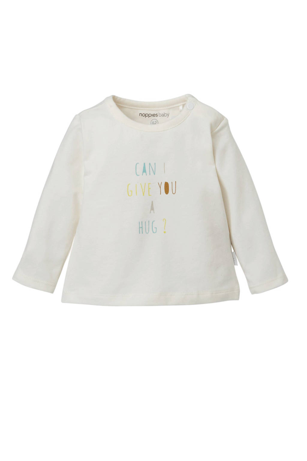 Noppies baby longsleeve Parker, Off White