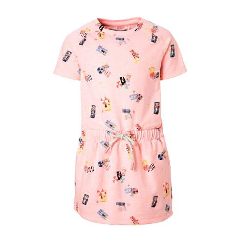 Noppies jurk met alloverprint roze kopen