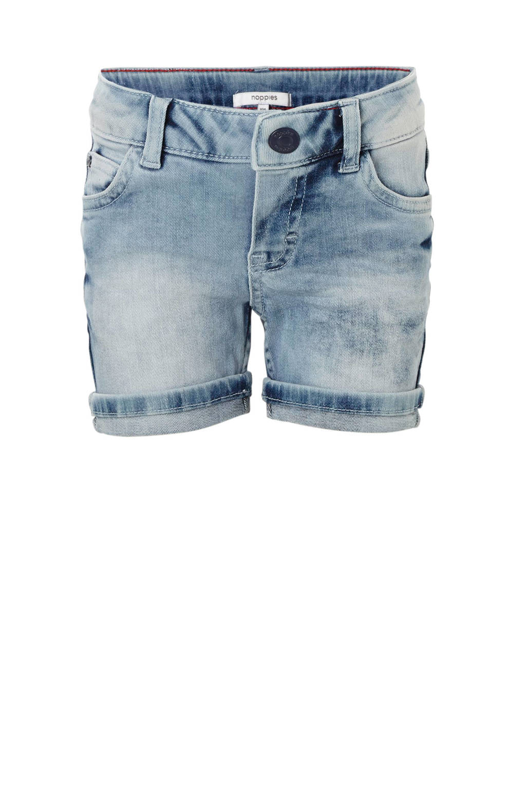 Noppies jeans bermuda Rutland, Lichtblauw