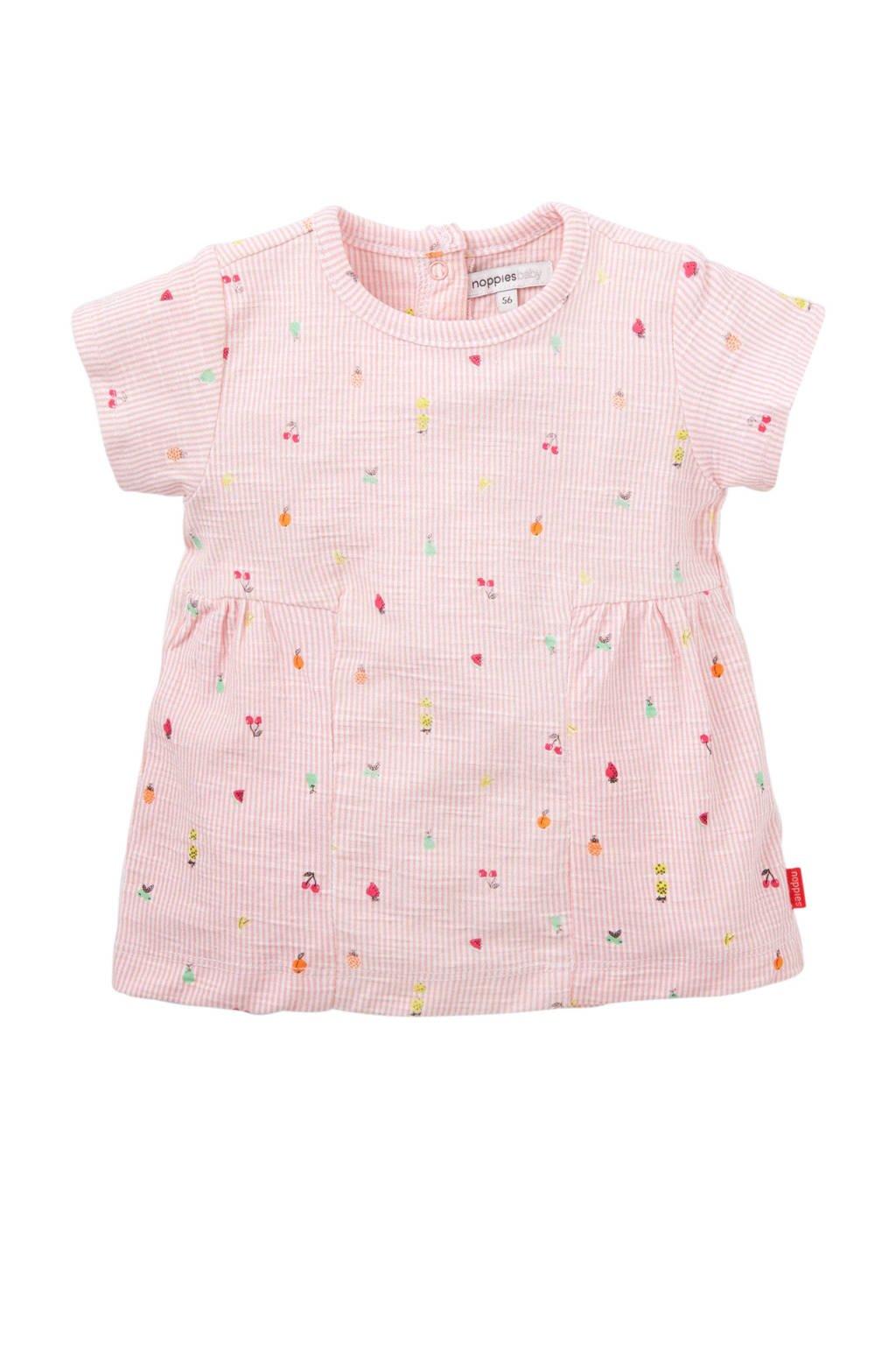 Noppies baby jurk Sterling roze, Roze