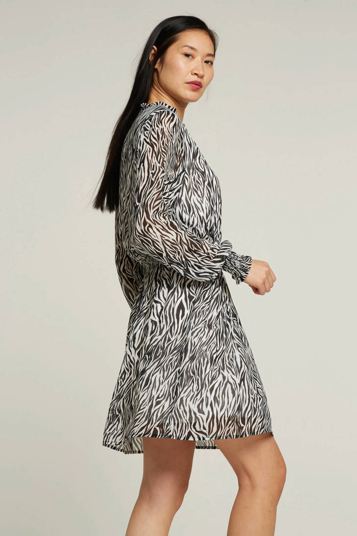 VILA jurk zebraprint met met jurk VILA zebraprint E05Cwwxq6