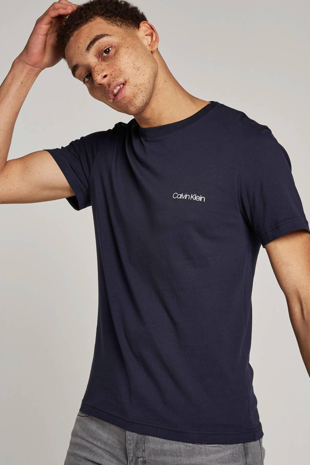 Calvin Klein T-shirt, Donkerblauw